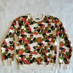 Urban Outfitters Sweaters - Urban Outfitters Character Hero Camo Sweater